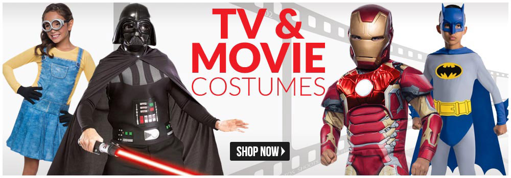 Movie & TV Halloween Costumes (Movie Character Costumes For Halloween)